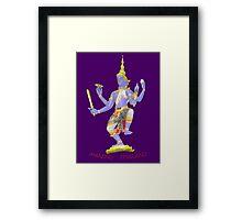 Thai Statue t Framed Print