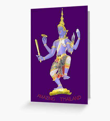 Thai Statue t Greeting Card