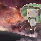 Robot in Space by FayeP