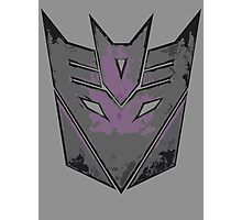 Decepticon Photographic Print