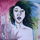 Watercolor Woman by Chelsea Leichter