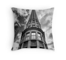 Esplanade Tower Throw Pillow
