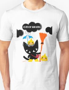 BLACK CAT & COCKATIELS T-Shirt