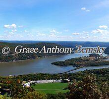 Hudson Valley Autumn by Grace Anthony Zemsky