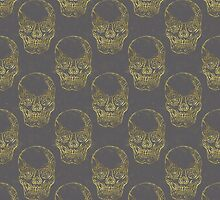 Golden Skull by Beth Thompson