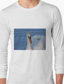 Drinking Swan Long Sleeve T-Shirt