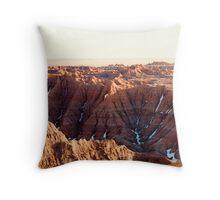 South Dakota Badlands #3 Throw Pillow