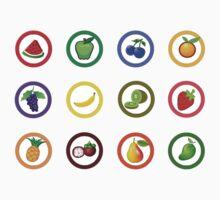 Fruit Jam One Piece - Long Sleeve