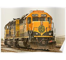 Trains - Locomotive - Ready for Service Poster