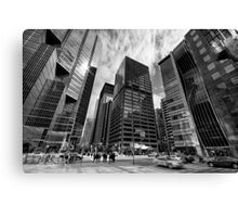 Shapes Financial Canvas Print