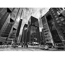 Shapes Financial Photographic Print