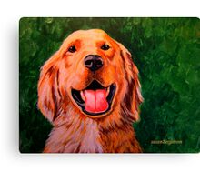 Forever Golden #2 Canvas Print