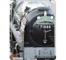 Duke of Gloucester - Loco 71000 iPad Case/Skin