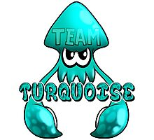Team Turquoise - Inkling Photographic Print