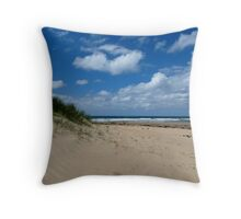 Sand Dune Beach Throw Pillow