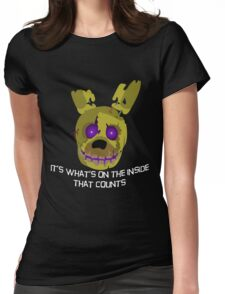 fnaf springtrap Womens Fitted T-Shirt