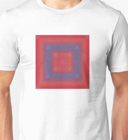 Blue Box Abstract Unisex T-Shirt