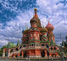 Cathedral of Basil the Blessed, Moscow, Russia by vadim19