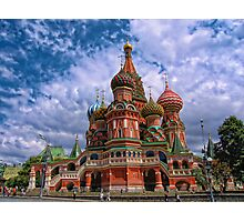 Cathedral of Basil the Blessed, Moscow, Russia Photographic Print