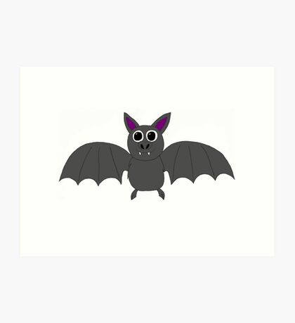 Batty Bill  Art Print