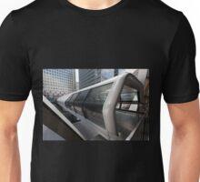 The Adams Plaza Bridge, Canary Wharf  Unisex T-Shirt
