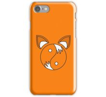 Tails Yin and Yang  iPhone Case/Skin