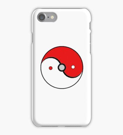 Poke Ball Yin and Yang iPhone Case/Skin