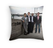 Office surrounds Throw Pillow