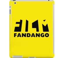Film Fandango Logo - BLACK iPad Case/Skin