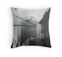 10/14/2009 downtown Denver Throw Pillow