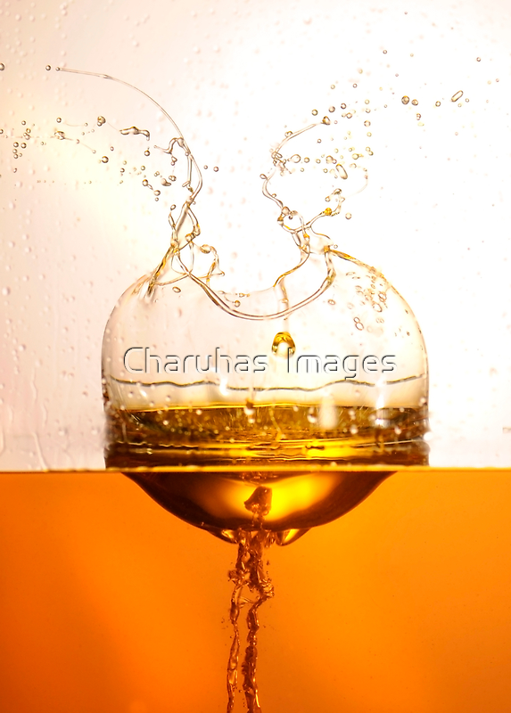 Oil Splash by Charuhas  Images