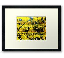 Pixel Grease Framed Print