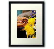 """saying goodbye..."" Framed Print"