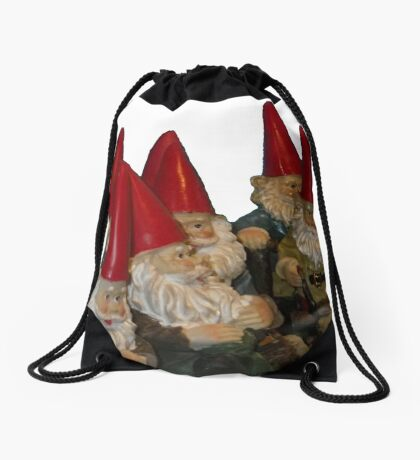 Keep Your Goals Away from the Trolls Drawstring Bag