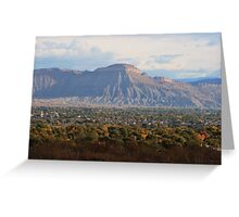 Mt. Garfield  Greeting Card