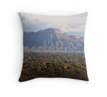 Mt. Garfield  Throw Pillow