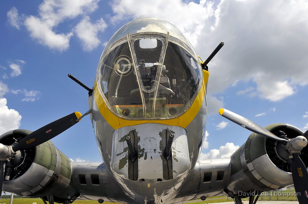 Flying Fortress by David Lee Thompson
