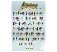Every Avenger EVER! (for now at least...) Poster