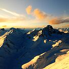1000ft above the Alps by Dominic Kamp