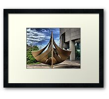 In Memory of Norse Valhöll & The Vikings Framed Print