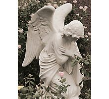 Angel in Blessing Photographic Print