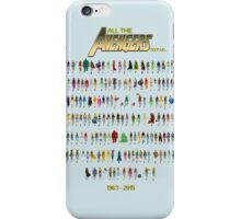 Every Avenger EVER! (for now at least...) iPhone Case/Skin