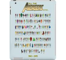 Every Avenger EVER! (for now at least...) iPad Case/Skin