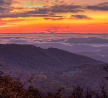 Blue Ridge Sunrise by Jane Best