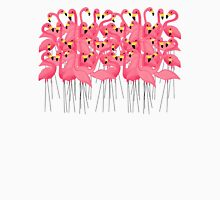 Flamingo Group In The Caribbean Sea Womens Fitted T-Shirt