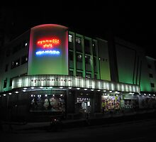 Thamada Cinema - Yangon, Myanmar by John Meckley