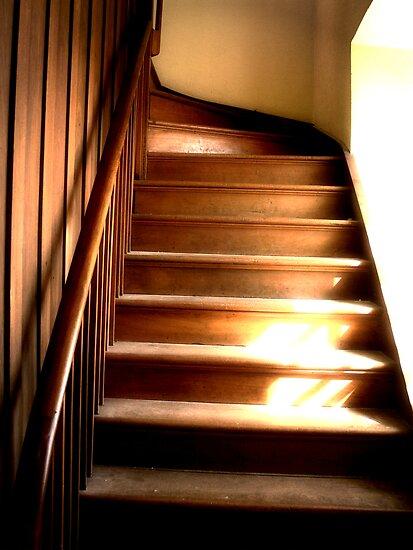 Fremantle Stairs by Hope Ledebur