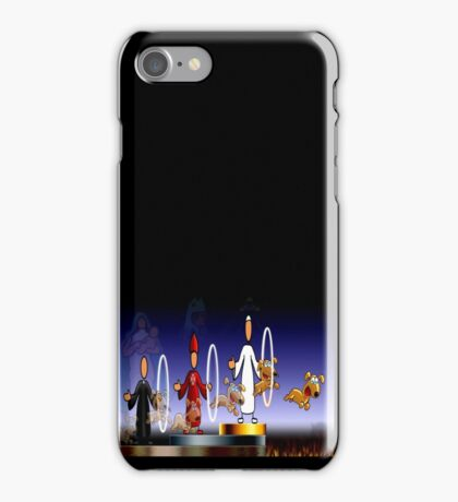 THE HOLY HOOPS OF HELL iPhone Case/Skin