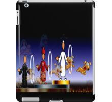 THE HOLY HOOPS OF HELL iPad Case/Skin