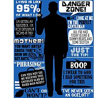 Archer - Sterling Archer Quotes Photographic Print